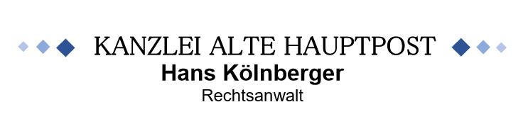 Rechtsanwalt Hans Kölnberger, Straubing